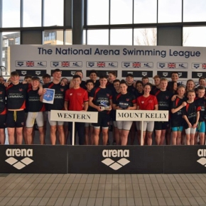 Mount Kelly win National Arena Swimming League on their debut in thefinal
