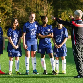 Mount Kelly team up with Chelsea FC Foundation to launch new girls' football programme
