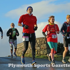GALLERY: Pictures from the first day of the 2020 Plym Trail Christmas MarathonWeekend